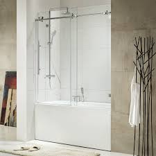 tub with glass shower door home design sliding glass tub shower doors southwestern medium