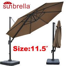 Patio Umbrellas San Diego Sunbrella Umbrellas Costco Patio Umbrella 11 Foot San Diego