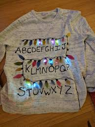 stranger things ugly christmas sweater 7 steps with pictures
