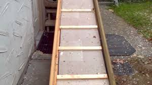 How To Build A Garden Shed Ramp by Longest Dog Ramp For Sure Youtube