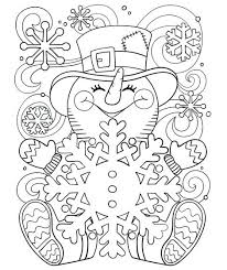snowman coloring pages pdf inspirational snowman coloring pages for happy little snowman 32