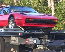 ferrari truck something not just right u2026 a ferrari 308 on a tow truck u2013 a gator