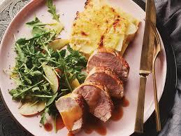 cuisiner roti de porc la meilleure recette de filet de porc rôti au cidre de pomme
