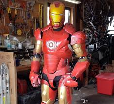 how to make a iron man helmet