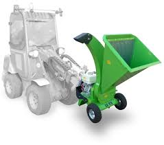 a tractor mounted shredder intended for gardening and powered by