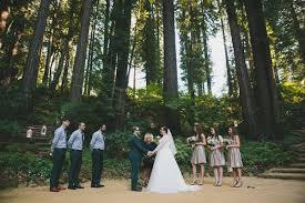 redwood forest wedding venue california redwoods wedding ruffled