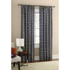 curtain target navy curtains room darkening curtains short