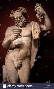 dionysus greek god statue dionysos god of wine dionysus bacchus roman greek stock photo