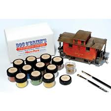 Micromark Outdoor Lighting by Doc O U0027brien U0027s Weathering Powders Set Of 12 Colors