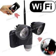 wireless home security ip wifi cctv light phone