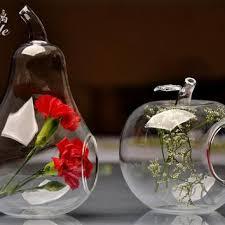Round Flower Vases Shop Blue Glass Flower Vase On Wanelo