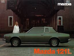 mazda 121 auto brochures