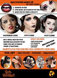 halloween face stickers 1920s 1950s and victorian halloween makeup in 3 easy steps