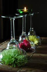 Martini Glass Centerpieces Interesting Diy Wine Glass Centerpieces