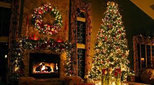 interior attractive christmas tree oranments decoration ideas