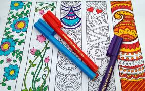 coloring bookmarks bookmark coloring bookmarks to colour