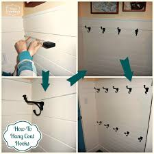 diy coat hooks interior design