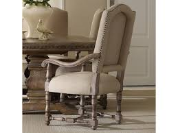 hooker furniture sorella upholstered dining arm chair with