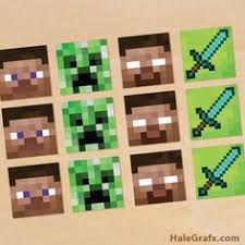 minecraft cupcake ideas party minecraft style goodie bags candy bags and birthdays