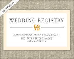 how to create a wedding registry wedding registry cards lilbibby