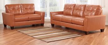 Orange Sofa Living Room by Buy Ashley Furniture 2700238 2700235 Set Paulie Durablend Orange