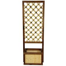Bamboo Sconce Oriental Furniture Japanese Bamboo Planter Box With Trellis