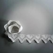 crochet filet lace trim shelves border crochet home decor