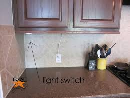 under cabinet light switch the finale to the under cabinet lighting debacle throughout awesome