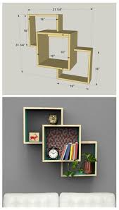 Corner Shelf Woodworking Plans by Diy Wall Mounted Display Shelves Find The Free Plans For This