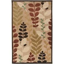 8x12 Area Rug Meticulously Woven Ashlan Transitional Floral Indoor Outdoor Area
