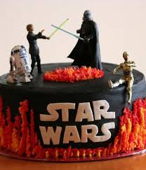 starwars cake top wars cakes cakecentral