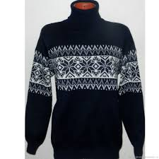 buy sweater ornament knit style on livemaster