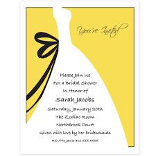 yellow and gray chevron bridal shower invitations unique wedding