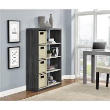Sauder Premier 5 Shelf Composite Wood Bookcase by Sauder Cannery Bridge Lintel Oak Storage Open Bookcase 416091