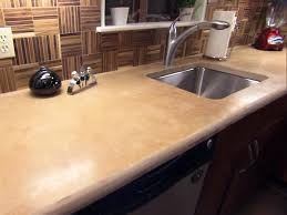 concrete kitchen countertop options hgtv
