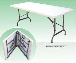 plastic rectangular outdoor table cheap white outdoor rectangular foldable hdpe plastic folding