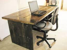 Diy Rustic Desk Alluring Computer Desk For Office 1000 Images About Office Spaces