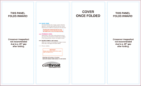gate fold brochure template cutthroat printcustom brochure printing