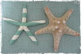 starfish decorations striped starfish tutorial hanging starfish and fridge magnet