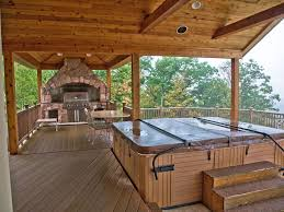 rustic tub with outdoor kitchen in windham ny zillow digs