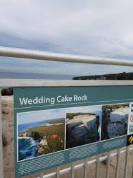 wedding cake rock wedding cake rock royal national park bundeena nsw picture