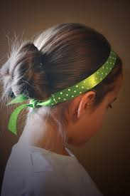 ribbon headbands a simple headband made from a ribbon and ponytail holders
