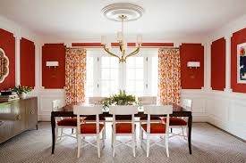 Bedroom With Red Accent Wall - 20 fab red accent walls in dining rooms home design lover