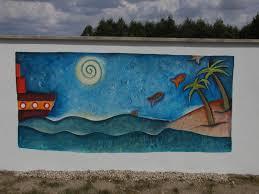 fresque carrelage mural ma première fresque avec les enfants de l u0027ecole de courbillac