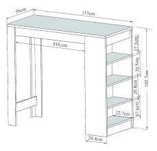 achat bar cuisine bar avec rangement cuisine table haute avec chaise table de cuisine