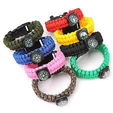 survival bracelet with whistle images Tactical paracord outdoor survival bracelet buckle band compass jpg