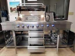 kitchen island grill 3 in 1 stainless steel outdoor bbq kitchen island grill propane