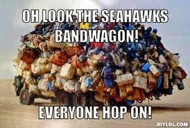 Seahawks Bandwagon Meme - 22 meme internet oh look the seahawks bandwagon everyone hop on