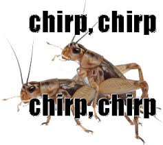 Crickets Chirping Meme - crickets chirping gif 5 gif images download