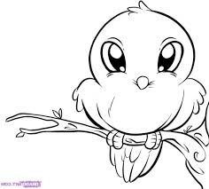 easy drawing of birds how to draw birds for kids step step animals